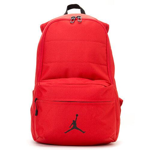 2fc265c5e997 Brand New Nike Jordan Backpack Book Bag Red BA4453 640 on PopScreen