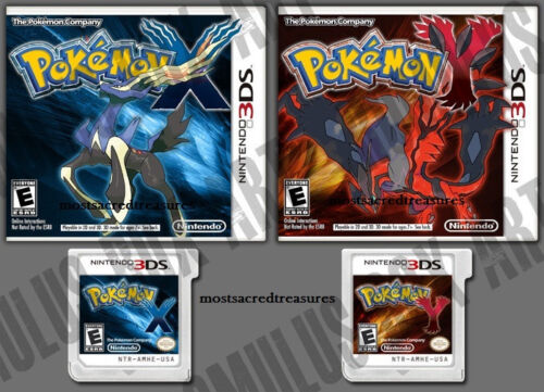 Brand New! Pokemon Games Pokemon X and Pokemon Y Version Nintendo 3DS Free Ship in Video Games & Consoles, Other | eBay