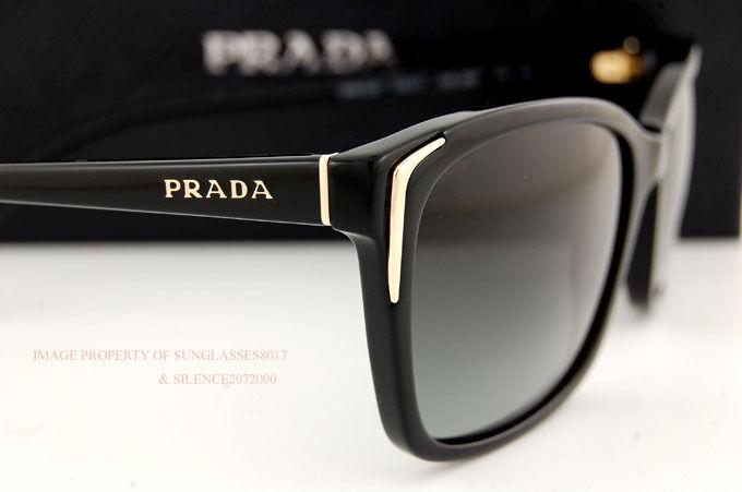 Brand New Prada Sunglasses 02O 02OS 1AB 3M1 BLACK GRAY GRADIENT for Women