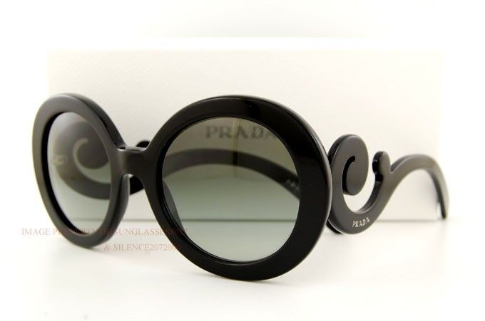 Brand New Prada Sunglasses 27N 27NS 1AB 3M1 BLACK for Women 100% Authentic