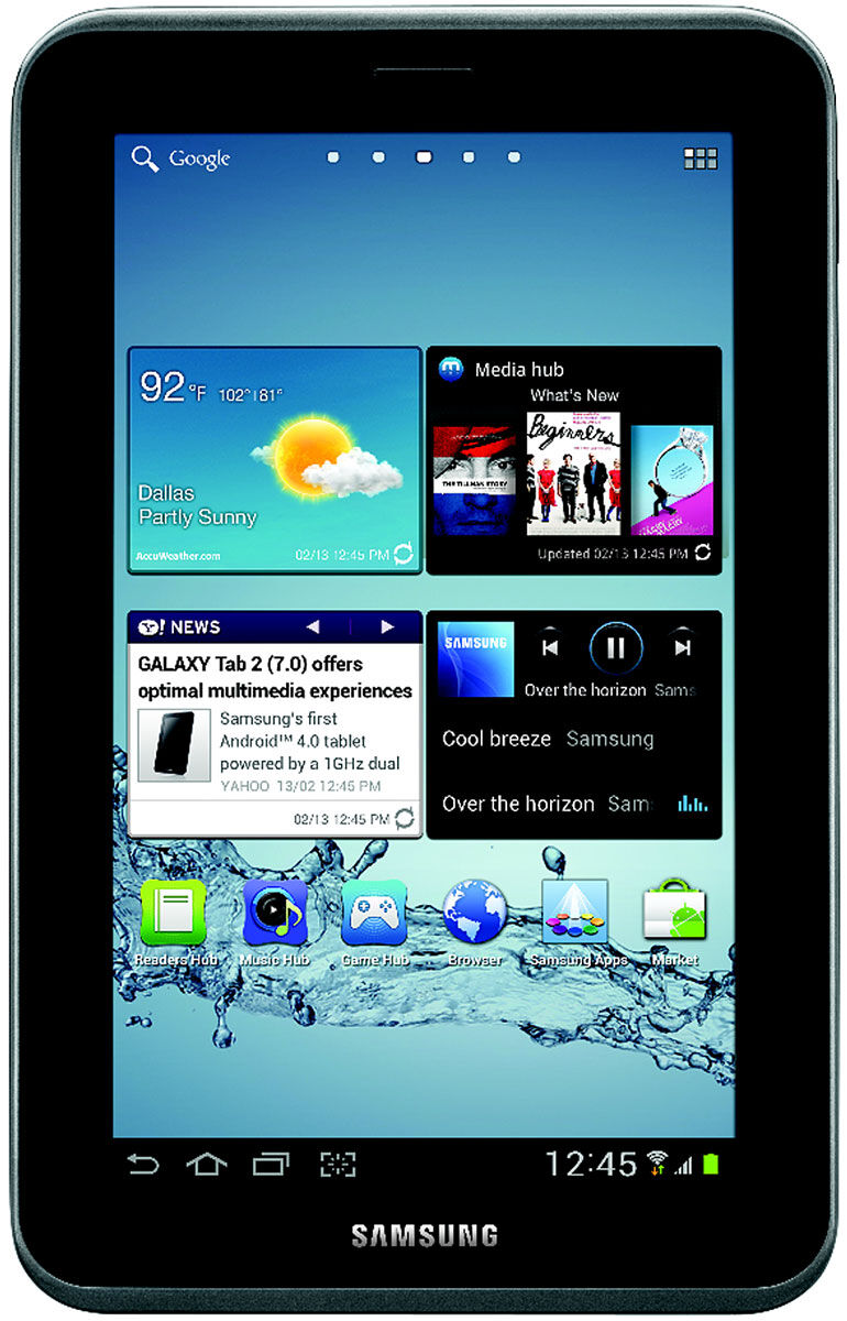 Rarely used mint 4 month old samsung galaxy tab 2 7 034 tablet includes extras ebay - Six uses old tablet ...