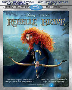 Brave 3D SLIP COVER ONLY!!!!!!! NO DISCS in DVDs & Movies, Storage & Media Accessories | eBay