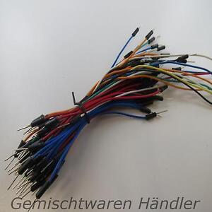 Breadboard-70-Stk-Steckbruecken-Drahtbruecken-flexibel-fleixible-jumper-wires-wire