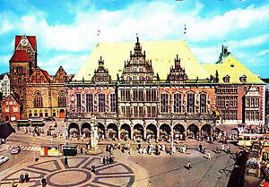 Bremen-Rathaus-Ansichtskarte