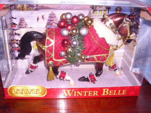 Breyer Winter Belle 2011 Christmas Model New in Box! in Collectibles, Animals, Horses: Model Horses | eBay