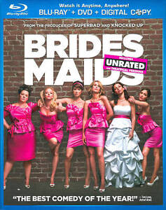 Bridesmaids (Blu-ray/DVD, 2011, 2-Disc S...