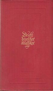 Briefe-deutscher-Klassiker-mit-9-Bildnissen-1941