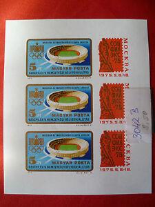 Briefmarken Ungarn Kleinbogen KLB 3042 B Postfrisch ** - Deutschland - Briefmarken Ungarn Kleinbogen KLB 3042 B Postfrisch ** - Deutschland