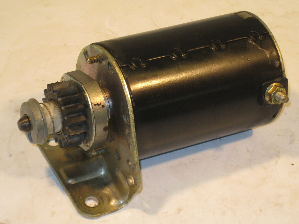 Briggs Electric Starter Briggs And Stratton Starter Motor