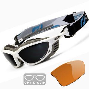 brillentr ger sportbrille skibrille mit optik clip. Black Bedroom Furniture Sets. Home Design Ideas