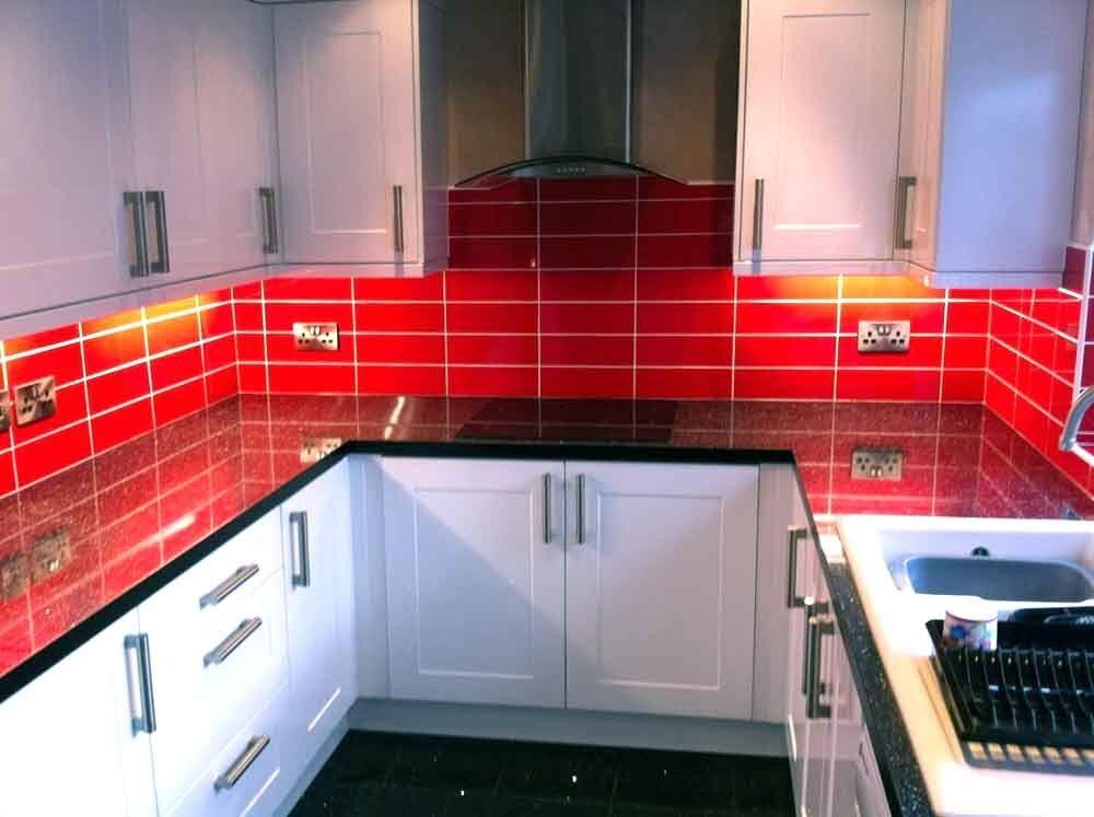 Brillo 30x10cm Red Brick Effect Wall Tiles 1 Sqm 33