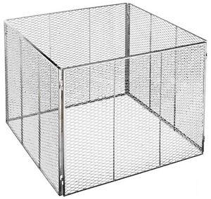 brista komposter metall ohne deckel 100 x 100 x 80 cm neu ebay. Black Bedroom Furniture Sets. Home Design Ideas