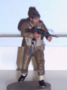 Brit. Commando SAS, Normandie 1944, Metall-Figur 1:35 - Deutschland - Brit. Commando SAS, Normandie 1944, Metall-Figur 1:35 - Deutschland