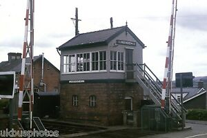 British-Rail-Llandrindod-Wells-Signal-Box-Powys-1984-Rail-Photo