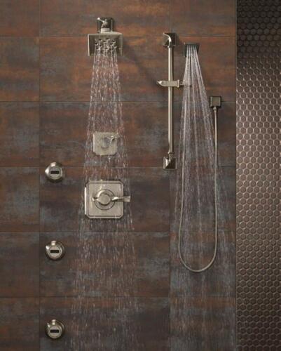 brizo virage chrome handshower body spray shower spa