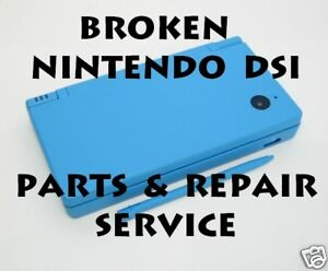 Broken Nintendo DSi System Parts and Repair Service in Video Games & Consoles, Other | eBay