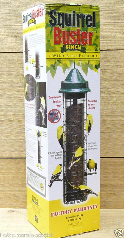 Squirrel Buster Finch Squirrel Proof Bird Feeder 628209010165