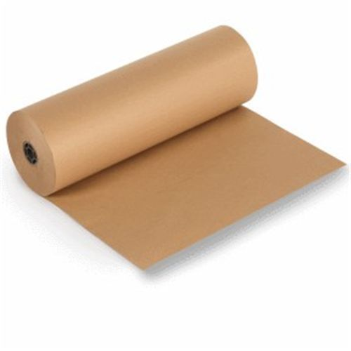 Brown kraft recycled parcel wrapping paper rolls 500mm for Brown craft paper rolls