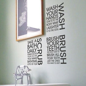 Bath shower quotes quotesgram - Stickers deco salle de bain ...