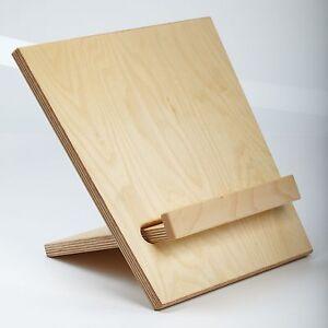 buchst tze aus holz kochbuchst nder kochbuchhalter buchhalter buchst nder ebay. Black Bedroom Furniture Sets. Home Design Ideas