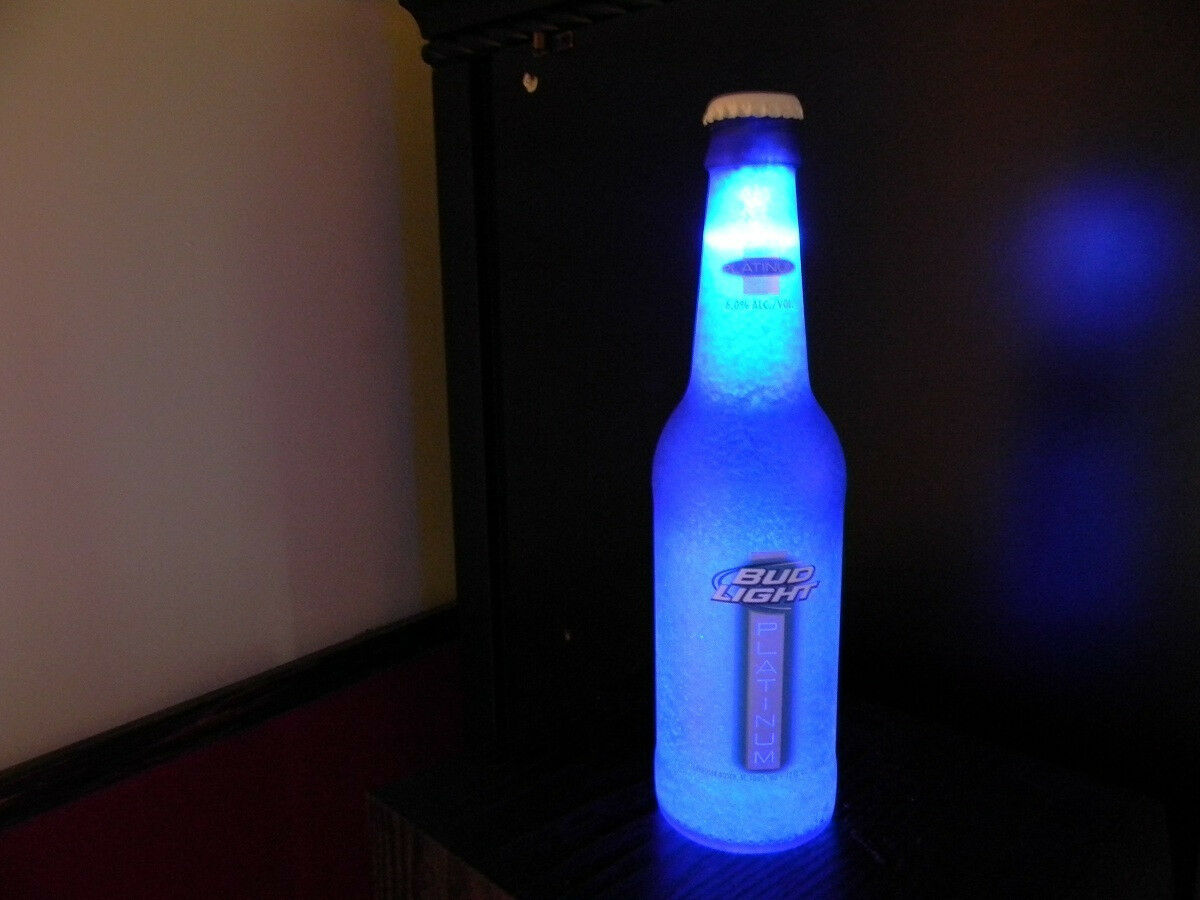 einfache led beleuchtung in flasche umsetzen. Black Bedroom Furniture Sets. Home Design Ideas