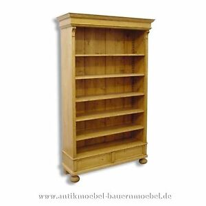 b cherregal wandregal regal landhausstil bauernm bel gr nderzeit massiv holz ebay. Black Bedroom Furniture Sets. Home Design Ideas