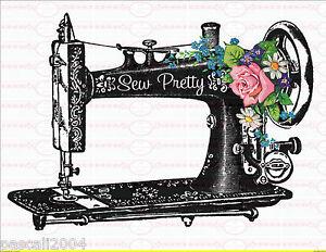 b gelbilder n hen n hmaschine antik sewing a4 no 942 vintage blumen ebay. Black Bedroom Furniture Sets. Home Design Ideas