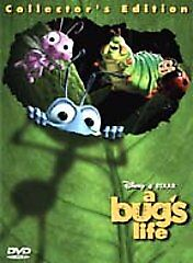 A Bug's Life (DVD, 1999, 2-Disc Set, Col...