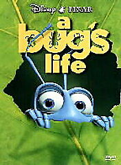 A Bug's Life (DVD, 1999, Standard and Le...