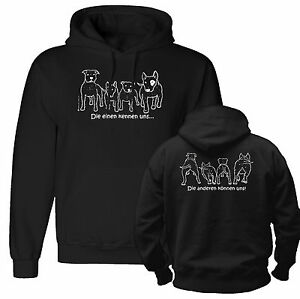 bullterrier in not kampfhund listenhund hoodie s xxxl ebay. Black Bedroom Furniture Sets. Home Design Ideas