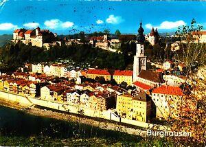 Burghausen-1976-gelaufene-Ansichtskarte
