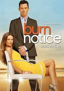 Burn Notice: Season Five (DVD, 2012, 4-D...