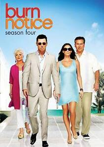 Burn Notice: Season Four (DVD, 2011, 4-D...