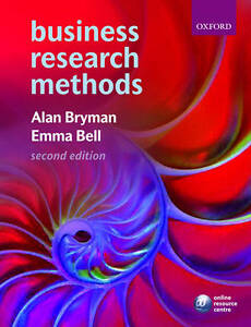 business research methods bryman and bell