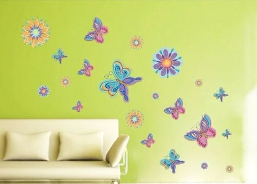 Butterfly Dream Wall Mural Art REMOVABLE Wall DECAL Sticker Vinyl Home Decor! in Home & Garden, Home Decor, Decals, Stickers & Vinyl Art | eBay