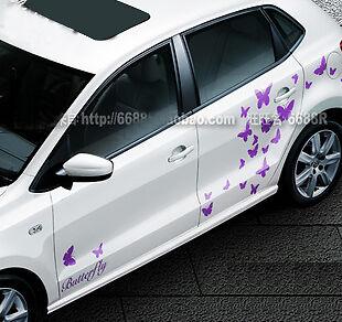 Butterfly Vinyl Car Truck Sticker Decal Graphics