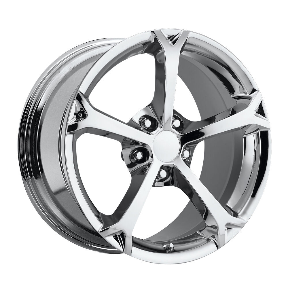 Sport C6 Z06 Corvette Chrome Wheels Rims for A C5 17x8 5 18x9 5
