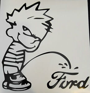 Ford Peeing on Chevy Sticker http://www.ebay.com/itm/CALVIN-PEEING-ON-FORD-CHEVY-DODGE-VINYL-STICKER-YOU-CHOOSE-CAR-MODEL-AND-SIZE-/180843252933