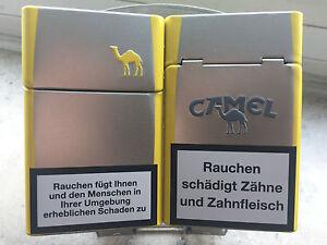 camel filters zigarettenbox etui metall f r ganze packung ebay. Black Bedroom Furniture Sets. Home Design Ideas