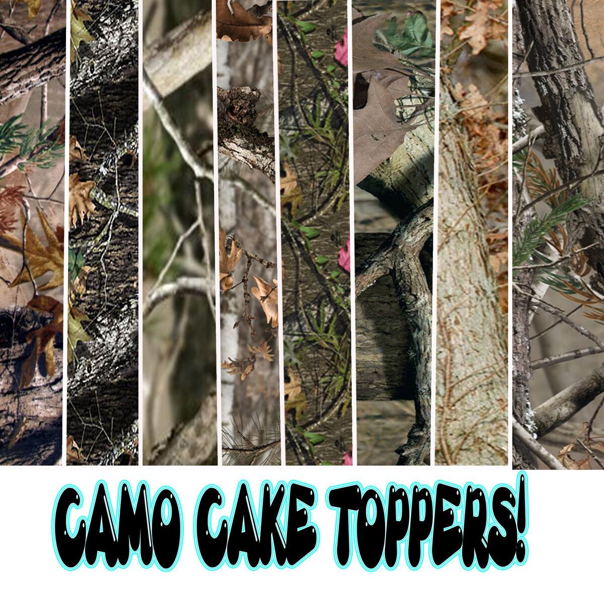 edible camo sugar sheets