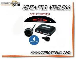 Camper auto sensori di parcheggio senza fili wireless ebay - Sensori per finestre senza fili ...