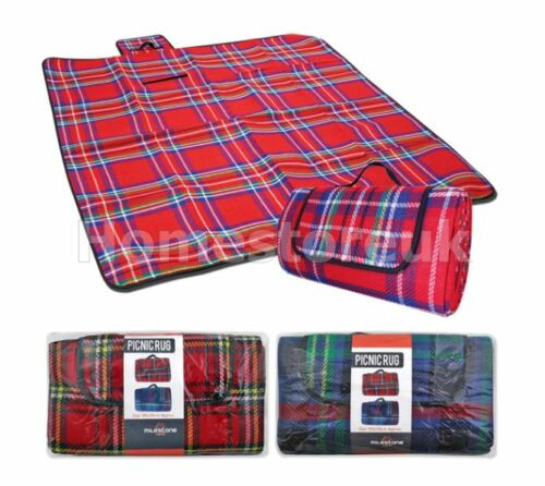 Camping Travel Picnic Rug Blanket Waterproof Back Outdoor