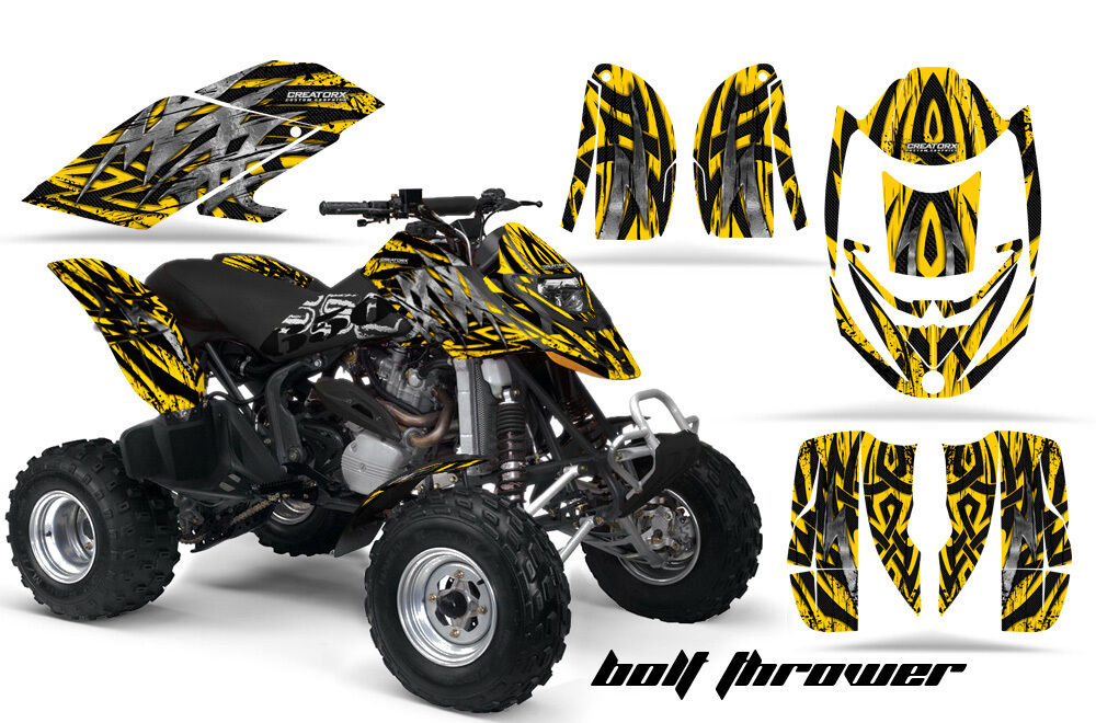 Can Am DS650 Bombardier Graphics Kit DS650X Decals Stickers Btyb