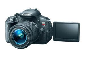 CANON-EOS-700D-18-0-MP-Digitalkamera-Schwarz-Kit-mit-EF-S-18-55mm-IS-STM-NEU