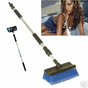 CAR-CLEAN-SOAP-TELESCOPIC-CAR-WASH-BRUSH-VEHICLE-GARDEN