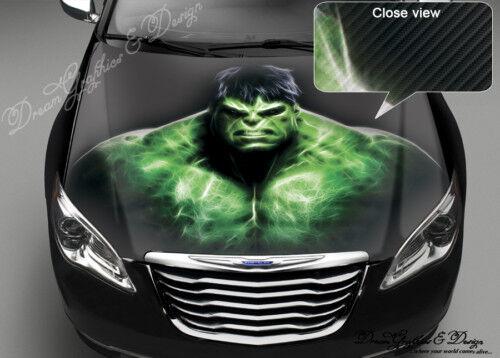 CAR FULL COLOR STICKER DECAL VINYL HOOD HULK #92