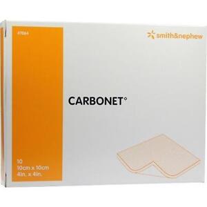 CARBONET-10x10cm-geruchsabs-Wundaufl-m-Aktivkoh-10-St