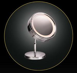 carmen verchromter luxus kosmetikspiegel bm9500. Black Bedroom Furniture Sets. Home Design Ideas