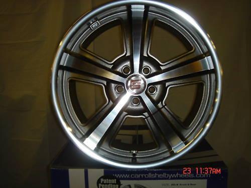 Caroll Shelby Ford Mustang CS69 20 Wheels Hyper Black