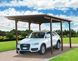 Carport 320x495 pergola tettoia in di legno auto copertura for 5 piani di garage per auto
